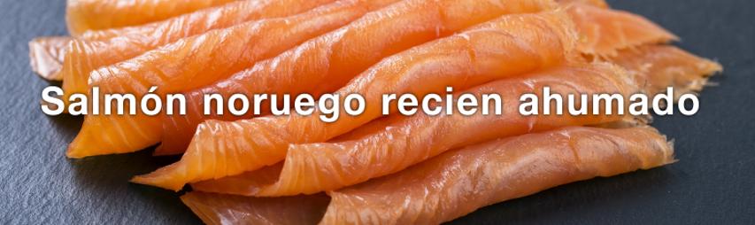 Productos gourmet del salmón noruego salvaje